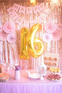 Sweet 16 Party Decoration